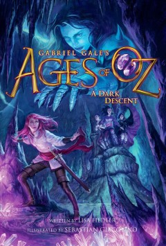 A dark descent /  written by Lisa Fiedler ; illustrated by Sebastian Giacobino.