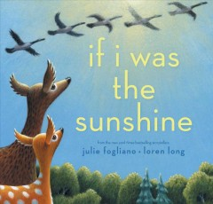 If I was the sunshine /  Julie Fogliano, Loren Long.