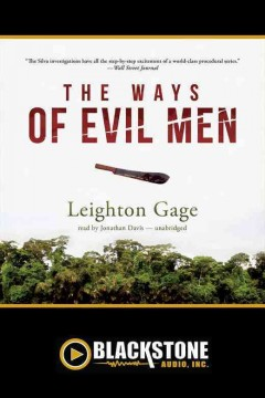 The ways of evil men /  Leighton Gage.