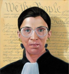 Ruth objects : the life of Ruth Bader Ginsburg / written by Doreen Rappaport ; illustrated by Eric Velasquez. - written by Doreen Rappaport ; illustrated by Eric Velasquez.