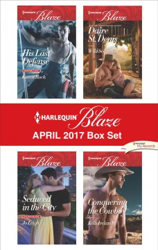 Harlequin blaze April 2017 box set /  Karen Rock [and 3 others].