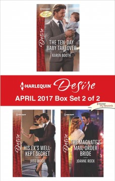 Harlequin eesire April 2017 : box set 2 of 2 / Joss Wood. - Joss Wood.