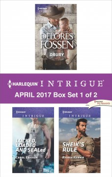 Harlequin intrigue April 2017 : box set 1 of 2 / Delores Fossen, Carol Ericson, Ryshia Kennie. - Delores Fossen, Carol Ericson, Ryshia Kennie.