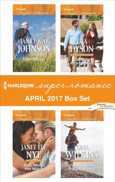 Harlequin superromance April 2017 box set /  Janice Kay Johnson [and 3 others].