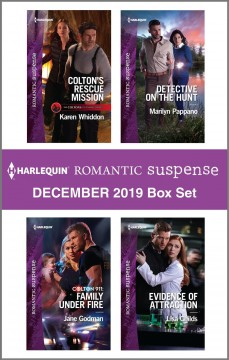 Harlequin romantic suspense.