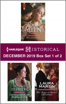 Harlequin historical December 2019.