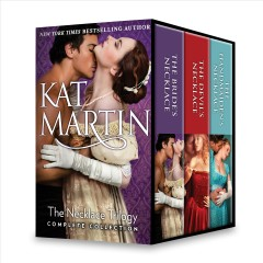 The necklace trilogy complete collection /  Kat Martin.
