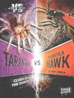 Tarantula vs. tarantula hawk : clash of the giants / by Lindsy O'Brien ; consultant, Christiane Weirauch, Professor of Entomology, Department of Entomology, University of California, Riverside. - by Lindsy O'Brien ; consultant, Christiane Weirauch, Professor of Entomology, Department of Entomology, University of California, Riverside.