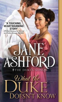 What the duke doesn't know /  Jane Ashford.