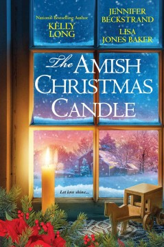 The Amish Christmas candle.