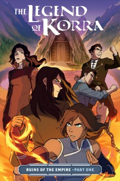 The legend of Korra.  written by Michael Dante DiMartino ; art by Michelle Wong ; colors by Vivian Ng ; lettering by Rachel Deering ; cover by Michelle Wong with Vivian Ng. - written by Michael Dante DiMartino ; art by Michelle Wong ; colors by Vivian Ng ; lettering by Rachel Deering ; cover by Michelle Wong with Vivian Ng.