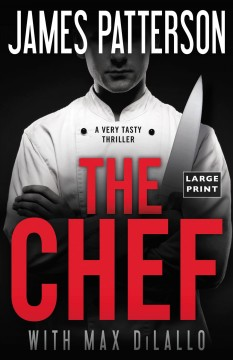 The chef /  James Patterson with Max DiLallo.