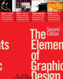 The Elements of Graphic Design.