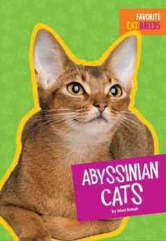 Abyssinian cats /  by Mari Schuh.