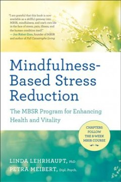 Mindfulness-based stress reduction : the MBSR program for enhancing health and vitality / Linda Lehrhaupt, PhD., Petra Meibert, Dipl. Psych.