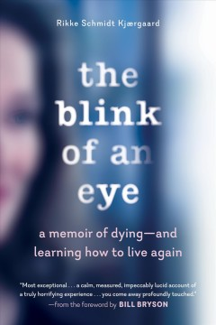 The blink of an eye : a memoir of dying--and learning how to live again / Rikke Schmidt Kjærgaard.