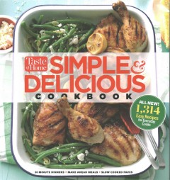 Simple & delicious cookbook.