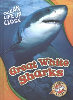 Great white sharks /  by Rebecca Pettiford.