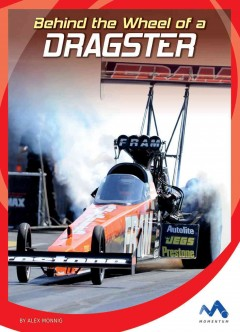 Behind the wheel of a dragster /  by Alex Monnig.