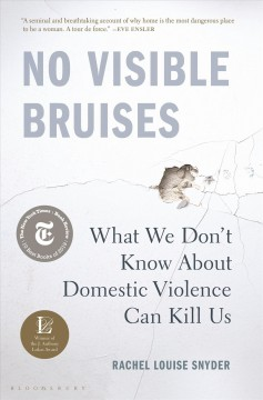 No visible bruises : what we don't know about domestic violence can kill us / Rachel Louise Snyder.