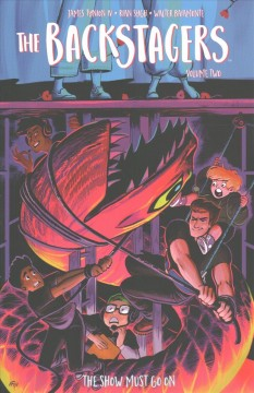 The backstagers Volume 2, The show must go on  created by James Tynion IV and Rian Sygh ; written by James Tynion IV ; illustrated by Rian Sygh. - created by James Tynion IV and Rian Sygh ; written by James Tynion IV ; illustrated by Rian Sygh.