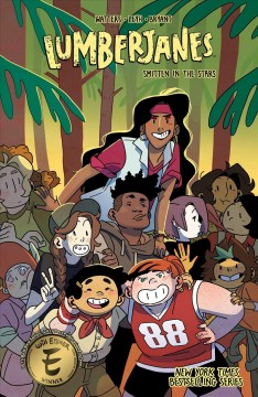 Lumberjanes Volume 17, Smitten in the stars /  written by Shannon Watters & Kat Leyh ; illustrated by Kanesha C. Bryant ; colors by Maarta Laiho ; letters by Aubrey Aiese.