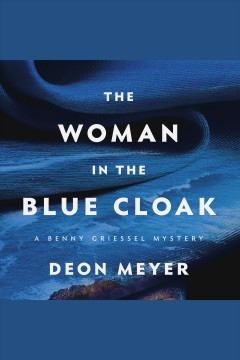 The woman in the blue cloak.