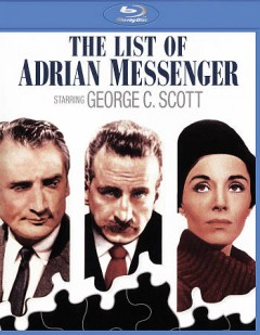 The list of Adrian Messenger /  Universal International ; Joel Productions Inc. presents ; screenplay by Anthony Veiller ; produced by Edward Lewis ; directed by John Huston. - Universal International ; Joel Productions Inc. presents ; screenplay by Anthony Veiller ; produced by Edward Lewis ; directed by John Huston.