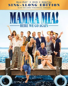 Mamma mia! : here we go again / Universal Pictures presents ; in association with Legendary Pictures/Perfect World Pictures ; a Playtone/Littlestar production ; produced by Judy Craymer, Gary Goetzman ; story by Richard Curtis and Ol Parker and Catherine Johnson ; written and directed by Ol Parker. - Universal Pictures presents ; in association with Legendary Pictures/Perfect World Pictures ; a Playtone/Littlestar production ; produced by Judy Craymer, Gary Goetzman ; story by Richard Curtis and Ol Parker and Catherine Johnson ; written and directed by Ol Parker.