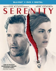 Serenity /  Aviron Pictures and Global Road Entertainment present in association with Starlings Entertainment ; a Nebulastar and Shoebox Films production ; a film by Steven Knight ; produced by Steven Knight, Greg Shapiro, Guy Heeley ; written and directed by Steven Knight.