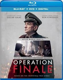 Operation Finale /  Metro Goldwyn Mayer Pictures presents ; an Automatik production ; produced by Brian Kavanaugh-Jones, Fred Berger, Oscar Isaac, Jason Spire ; written by Matthew Orton ; directed by Chris Weitz. - Metro Goldwyn Mayer Pictures presents ; an Automatik production ; produced by Brian Kavanaugh-Jones, Fred Berger, Oscar Isaac, Jason Spire ; written by Matthew Orton ; directed by Chris Weitz.