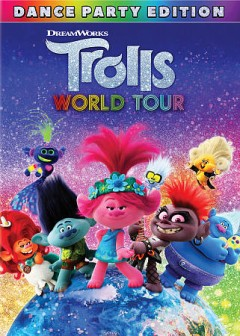 Trolls world tour /  DreamWorks Animation presents ; directed by Walt Dohrn ; produced by Gina Shay ; co-director, David P. Smith ; screenplay by Jonathan Aibel & Glenn Berger, Maya Forbes & Wally Wolodarsky, Elizabeth Tippet ; story by Jonathan Aibel & Glenn Berger.