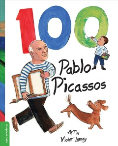 100 Pablo Picassos /  art by Violet Lemay. - art by Violet Lemay.