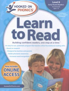 Hooked on phonics. Learn to read, Early fluent readers, Level 8, Second grade, ages 7-8.