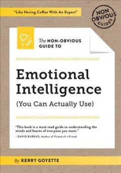 The non-obvious guide to emotional intelligence (you can actually use) /  by Kerry Goyette. - by Kerry Goyette.