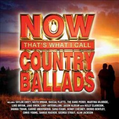Now that's what I call country ballads.