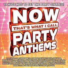 Now that's what I call party anthems [1].