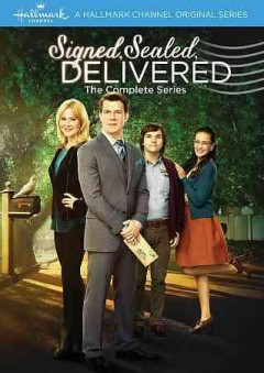 Signed, sealed, delivered : the complete series [2-disc set] / produced by Harvey Kahn ; created by Martha Williamson ; writers, Martha Williamson, Dawn Dekeyser, Marilyn Osborn & Jeff Eckerle, Katherine Collins, John J. Sakmar, Kerry Lenhart, Dean Batali, Brandi Harkonen ; directors, Scott Smith, Kevin Fair, Lynn Stopkewich, Mike Rohl. - produced by Harvey Kahn ; created by Martha Williamson ; writers, Martha Williamson, Dawn Dekeyser, Marilyn Osborn & Jeff Eckerle, Katherine Collins, John J. Sakmar, Kerry Lenhart, Dean Batali, Brandi Harkonen ; directors, Scott Smith, Kevin Fair, Lynn Stopkewich, Mike Rohl.