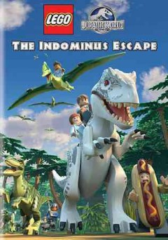 LEGO Jurassic world : the Indominus escape.
