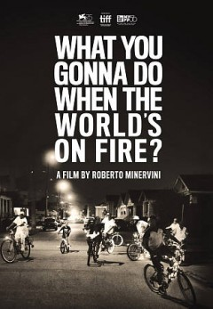 What you gonna do when the world's on fire? /  Okta Film, Pulpa Film, Rai Cinema presnt in cooperation with Srellac Sud ; producers, Roberto Minervini, Paolo Benzi, Denise Ping Lee ; director, Roberto Minervini. - Okta Film, Pulpa Film, Rai Cinema presnt in cooperation with Srellac Sud ; producers, Roberto Minervini, Paolo Benzi, Denise Ping Lee ; director, Roberto Minervini.