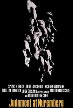Judgment at Nuremberg /  Stanley Kramer presents a United Artists release ; written by Abby Mann ; produced and directed by Stanley Kramer. - Stanley Kramer presents a United Artists release ; written by Abby Mann ; produced and directed by Stanley Kramer.