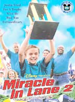 Miracle in lane 2 /  Disney presents ; Walt Disney Home Entertainment ; a Disney Channel original movie ; produced by Christopher Morgan ; written by Joel Kauffmann & Donald C. Yost ; directed by Greg Beeman. - Disney presents ; Walt Disney Home Entertainment ; a Disney Channel original movie ; produced by Christopher Morgan ; written by Joel Kauffmann & Donald C. Yost ; directed by Greg Beeman.