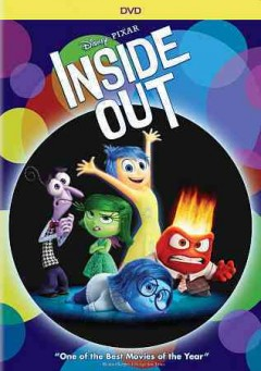 Inside out /  a Pixar Animation Studios film ; story by Pete Docter, Ronine del Carmen ; screenplay by Pete Docter, Meg LeFauve, Josh Cooley ; produced by Jonas Rivera ; co-directed by Ronnie del Carmen ; directed by Pete Docter. - a Pixar Animation Studios film ; story by Pete Docter, Ronine del Carmen ; screenplay by Pete Docter, Meg LeFauve, Josh Cooley ; produced by Jonas Rivera ; co-directed by Ronnie del Carmen ; directed by Pete Docter.