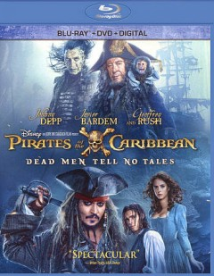 Pirates of the Caribbean : dead men tell no tales / Disney and Jerry Bruckheimer Films present ; story by Jeff Nathanson and Terry Rossio ; screenplay by Jeff Nathanson ; directors, Joachim Rønning, Espen Sandberg. - Disney and Jerry Bruckheimer Films present ; story by Jeff Nathanson and Terry Rossio ; screenplay by Jeff Nathanson ; directors, Joachim Rønning, Espen Sandberg.