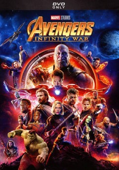 Avengers : infinity war / Marvel Studios presents ; produced by Kevin Feige ; executive producers, Jon Favreau, James Gunn, Stan Lee, Victoria Alonso, Michael Grillo, Trinh Tran, Louis D'Ésposito ; screenplay by Christopher Markus & Stephen McFeely ; directed by Anthony and Joe Russo. - Marvel Studios presents ; produced by Kevin Feige ; executive producers, Jon Favreau, James Gunn, Stan Lee, Victoria Alonso, Michael Grillo, Trinh Tran, Louis D'Ésposito ; screenplay by Christopher Markus & Stephen McFeely ; directed by Anthony and Joe Russo.