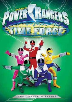 Power Rangers time force.