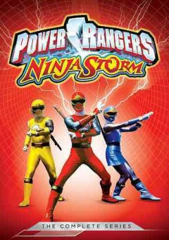 Power Rangers Ninja storm.