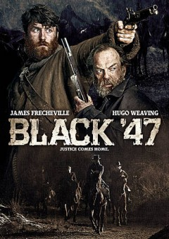 Black '47 /  a Fastnet Films/Primerdian production ; in association with Boro Scannán Na Héireann/The Irish Film Board and Premiere Picture ; in co-production with Samsa Film, Umedia, Sea Around Us ; co-produced by Jani Thiltges, Martin Metz, Adrian Politowski, Beata Saboova ; produced by Macdara Kelleher, Tim O'Hair, Arcadiy Golubovich, Jonathan Loughran ; story by P. J. Dillon, Pierce Ryan ; screenplay by P. J. Dillon, Pierce Ryan, Eugene O'Brien, Lance Daly ; directed by Lance Daly. - a Fastnet Films/Primerdian production ; in association with Boro Scannán Na Héireann/The Irish Film Board and Premiere Picture ; in co-production with Samsa Film, Umedia, Sea Around Us ; co-produced by Jani Thiltges, Martin Metz, Adrian Politowski, Beata Saboova ; produced by Macdara Kelleher, Tim O'Hair, Arcadiy Golubovich, Jonathan Loughran ; story by P. J. Dillon, Pierce Ryan ; screenplay by P. J. Dillon, Pierce Ryan, Eugene O'Brien, Lance Daly ; directed by Lance Daly.
