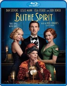 Blithe spirit /  IFC Films and Align Pictures present in association with Protagonist Pictures ; a Fred Films and Power Keg Pictures production ; a film by Edward Hall ; producers, Adrian Politowski, Martin Metz, Hilary Bevan Jones, Peter Snell, Toni Pinnolis ; produced by James Spring, Meg Leonard, Nick Moorcroft ; written by Nick Morrcroft, Meg Leonard, Piers Ashworth ; directed by Edward Hall. - IFC Films and Align Pictures present in association with Protagonist Pictures ; a Fred Films and Power Keg Pictures production ; a film by Edward Hall ; producers, Adrian Politowski, Martin Metz, Hilary Bevan Jones, Peter Snell, Toni Pinnolis ; produced by James Spring, Meg Leonard, Nick Moorcroft ; written by Nick Morrcroft, Meg Leonard, Piers Ashworth ; directed by Edward Hall.