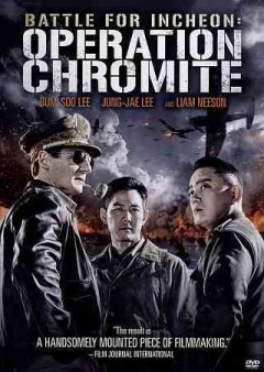 Battle for Incheon : Operation Chromite / CJ Entertainment presents ; in association with Korean Broadcasting System, KBS Media Co., Ltd., Union Investment Partners, IBK-Daesung Contents Small Giant Fund, Daesung Win-Win Fund, Timewise Investment, Korea Investment Partners Co., Ltd., IBK Securities Crowd Funding ; a Taewon Entertainment production ; produced by Chung Tae-won, Yang Chang-hoon ; screenplay, Lee Man-hee, John H. Lee ; original screenplay, Chung Tae-Won ; adaptation, Kim Jae-hwan, Chung Tae-won ; director, John H. Lee ; English version produced by CJ Entertainment in association with Bang Zoom! Entertainment, Inc. ; producer (CJ Entertainment), Sam Maseba ; producer (Bang Zoom! Entertainment), Eric P. Sherman. - CJ Entertainment presents ; in association with Korean Broadcasting System, KBS Media Co., Ltd., Union Investment Partners, IBK-Daesung Contents Small Giant Fund, Daesung Win-Win Fund, Timewise Investment, Korea Investment Partners Co., Ltd., IBK Securities Crowd Funding ; a Taewon Entertainment production ; produced by Chung Tae-won, Yang Chang-hoon ; screenplay, Lee Man-hee, John H. Lee ; original screenplay, Chung Tae-Won ; adaptation, Kim Jae-hwan, Chung Tae-won ; director, John H. Lee ; English version produced by CJ Entertainment in association with Bang Zoom! Entertainment, Inc. ; producer (CJ Entertainment), Sam Maseba ; producer (Bang Zoom! Entertainment), Eric P. Sherman.